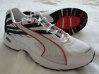 PUMA Edge II White Navy Mens Sneakers Size 8.5 US 7.5 UK NEW Authentic Shoes