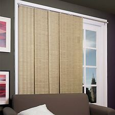 Sliding Panel Blinds Door Window Curtain Shade Patio Drape Room Provence Maple