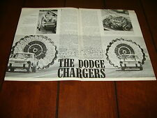 1964 DODGE CHARGERS RACE TEAM ***ORIGINAL ARTICLE***
