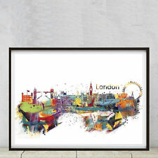 London, high quality A2 poster printer on smooth art matt 250gsm photo paper