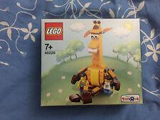 LEGO 40228 Geoffrey la girafe et ses amis Exclusivité Toys R Us NEUF Scellé RARE