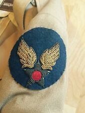 WWII Uniform Army Air Corps Star Patch Wings Gold Threads Beautiful Buttons