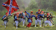 COLLECTORS SHOWCASE Confederate Wheats Infantry complete set of 7 figures