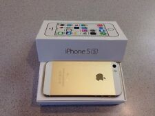 NEW in BOX APPLE iPhone 5s 16GB GOLD FACTORY UNLOCKED SMARTPHONE