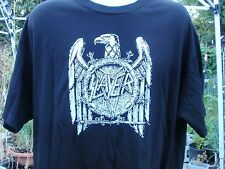 slayer old school pentagram w egale logo lrg.  t shirt  666 d2