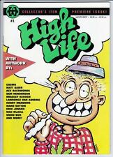 HIGH LIFE #1 - 1995 - TRANS-HIGH,  ULTRA RARE - ADULTS ONLY