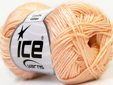 Lot of 6 Skeins Ice Yarns CAMILLA COTTON (100% Mercerized Cotton) Yarn Dark C...