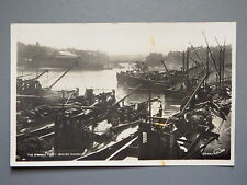 R&L Postcard: Whitby Fishing Fleet Ships Boats, Walter Scott Real Photo 1963