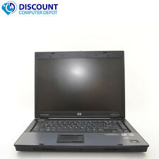 HP Compaq 6710b Laptop Computer PC 4GB 500GB Intel Core 2 Duo Win-10 Home WiFi