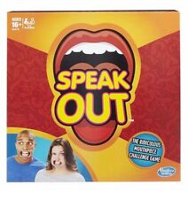 HASBRO SPEAK OUT BOARD GAME - SOLD OUT EVERYWHERE - IN HAND - VIRAL NEW