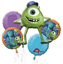 Monster University Inc.5 Birthday Mylar Bouquet Balloons Party Decoration Set