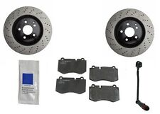 Mercedes W221 S550 4Matic S600 07-12 Front Brake KIT Rotors with JURID Pads