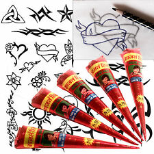 Henna / mehndi grandes Tattoo Kit, Reino Unido libre Post Ideal Proyecto Escolar, Eid Tt