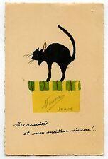 CHAT NOIR BLACK  CAT KATZE