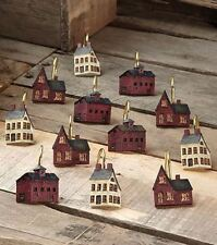 Bathroom 12 Shower Curtain Hooks Country Houses Rustic Decor- NEW- LAST ONE!!