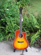 Epiphone FT-350SCE FT350SCE Self Tuning Acoustic-Electric Guitar Min-Etune #6906