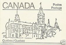 Canada 1982 - 50¢ Maple Leaf Booklets #BK82A (labels top row) - Quebec