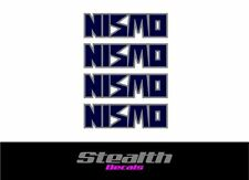 NISMO Premium Wheel decals stickers x4,LM-GT, GTR Skyline r32 various colours