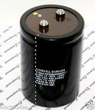1pcs - CDE 3300uF 400V 3186 Screw Terminal Capacitor - 3186GE332M400MPC1