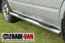 FORD Transit CHROME SIDE BAR passi elude B2 Acciaio Inossidabile 2000-13 MK6 MK7