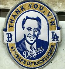 Vin Scully Custom Dodgers Patch