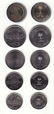 Saudi Arabien / Arabia - 5 + 10 + 25 + 50 + 100 Halala UNC - Satz aus 5 Münzen