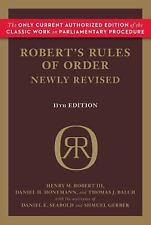 Robert's Rules of Order Newly Revised, 11th edition, Balch, Thomas J., Honemann,