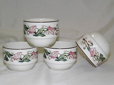 Villeroy & Boch PALERMO Rice / Open Sugar Bowls - sold in sets of 4