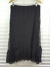 TS TAKING SHAPE sz S (or 16 ) womens Long Black Skirt