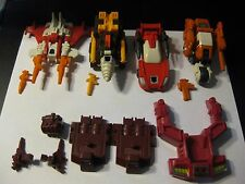 COMPUTRON PARTS AND WEAPONS LOT NICE VINTAGE ORIGINAL G1 TRANSFORMER!
