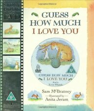 Guess How much I love you book and Dvd  NEW FREE P&P