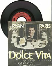 "Ryan Paris, dolce vita, G/VG 7"" single 0281"