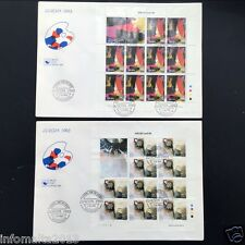 1993 Malta Europa Stamps CEPT Sheet First Day Cover FDC 7.4.93