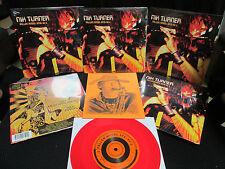 NIK TURNER (ex-Hawkwind) Fallen Angel STS-51-L / Eternity 7 inch vinyl sax flute