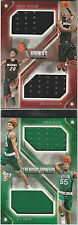 HUNTER MICKEY WINSLOW RICHARDSON RC QUAD JERSEY BOOKLET #/199 2015-16 PREFERRED