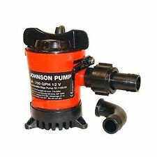 Johnson Pump 500 GPH Cartridge Bilge Pump 12 Volt. Dura-Ports - 32502 Marine  MD