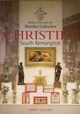 2 Auk.Kat.Christies alte Möbel Bronzen Uhren Silber Textilien - Gemälde - Vitrin