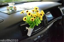 Car Van Truck Flower Decor Interior Accessories Decals Novelty Gift Air Con Vent