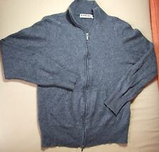 S.MARLON Ladies Silk Cashmere Zip Up Jumper Size M SALE