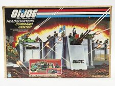 Vintage 1983 Hasbro G.I. Joe GI Joe Headquarters Command Center in box H.Q.