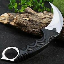 CS GO Counter Strike Karambit Knife Fixed Blade Knife tactical survival camping