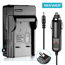 Neewer NP-BK1 Car & Wall Charger For Sony Camera DSC-W190 DSC-S750 DSC-S980