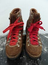 Vtg Rare 70s 80s Vtg Waffle Stomper Hiking Mountaineering Boot Suede Italy Made