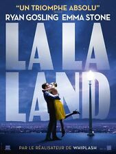 Affiche Pliée 40x60cm LA LA LAND 2017 Ryan Gosling, Emma Stone, JK Simmons NEUVE