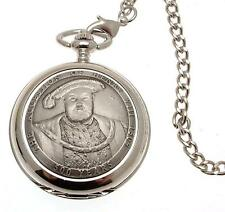 Pocket watch Henry VIII design quartz mechanism