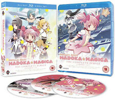 Puella Magi Madoka Magica Entire Series NEW Cult Blu-Ray 3-Disc Set Shinbo Japan