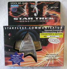 Playmates STAR TREK Generations PERSONAL COMMUNICATOR sealed MIB toy cosplay MIP