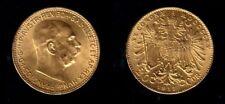 WW-I Austria HAND SELECTED BU AUTHENTIC DATE 1915 GOLD 20 Corona--Franz Joseph I