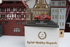 """BMW 3er """"Esso Spiel+Hobby Kupsch 2"""" in PC-Box + OVP  (Herpa /K/PC 102"""