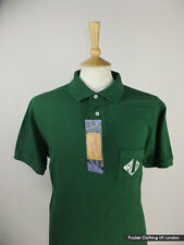 RALPH LAUREN MENS POLO SHIRT XL 48 CHEST CUSTOM FIT DARK GREEN RL POCKET RARE